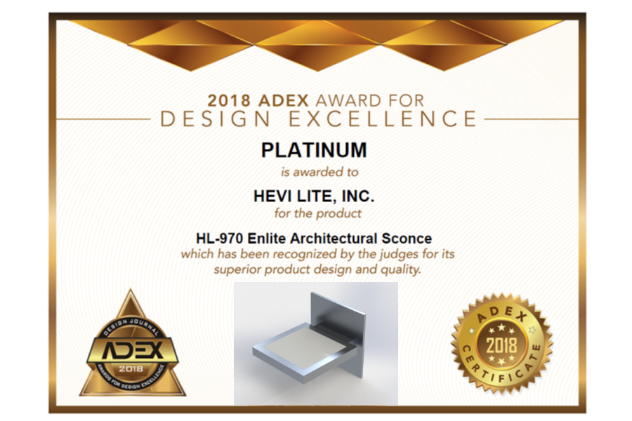 ADEX Platinum Award for Design Excellence
