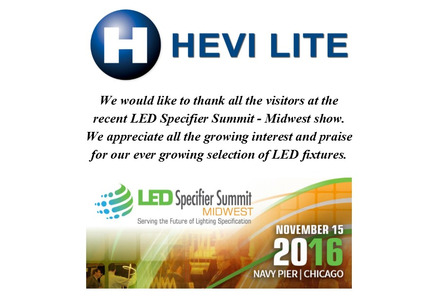 LED Specifier Summit – Midwest 2016